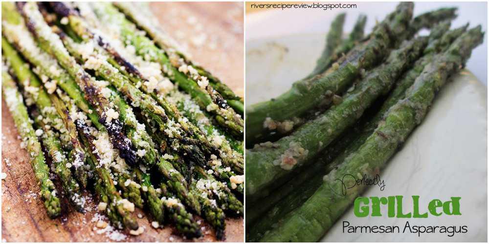 Grilling Asparagus