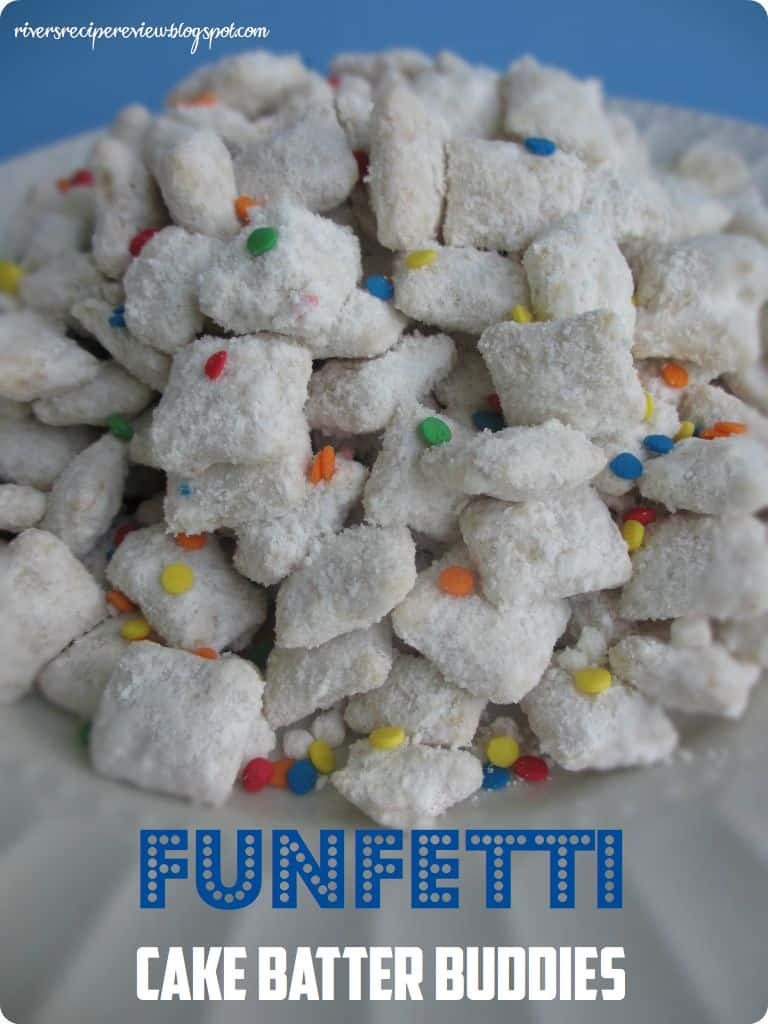 5 Cups Chex Cereal Any Variety 1 2 Cake Mix Funfetti Or Preferred Flavor Cup Powdered Sugar