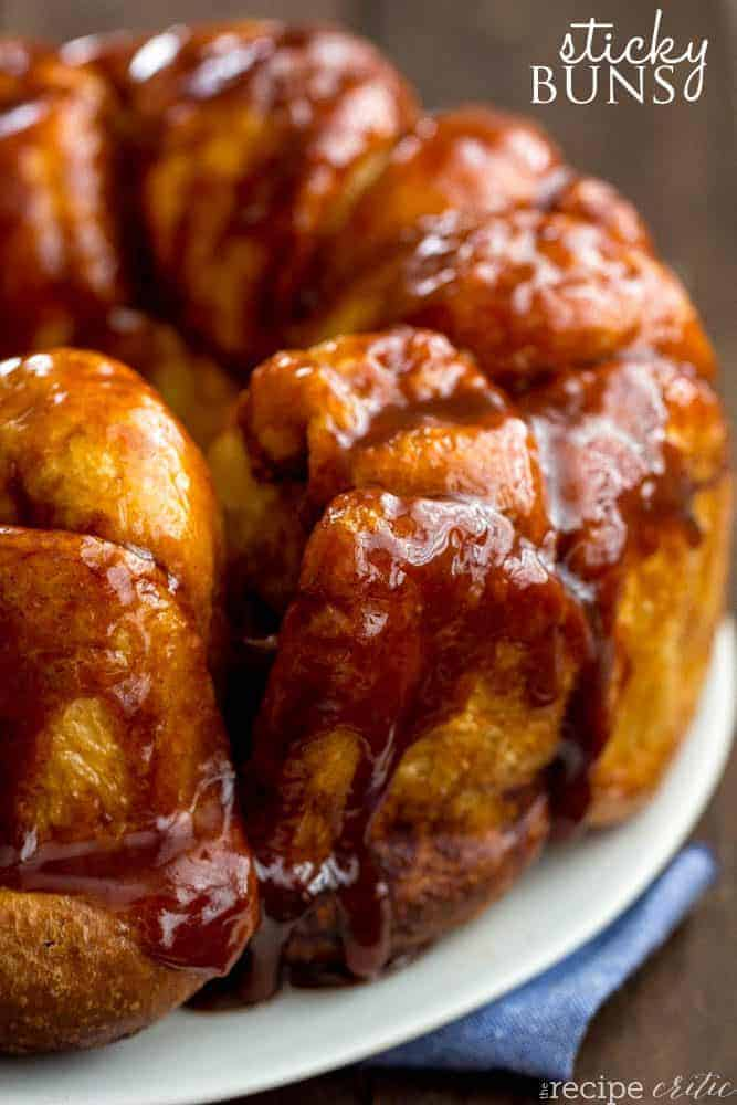 Sticky Buns The Recipe Critic