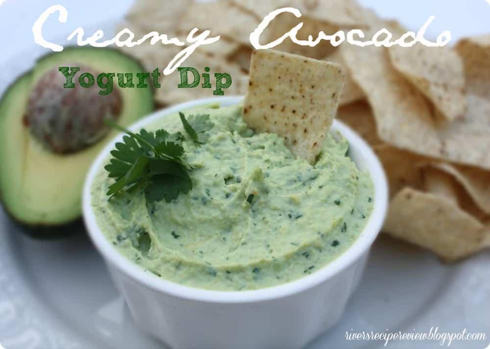Creamy Avocado Yogurt Dip | The Recipe Critic