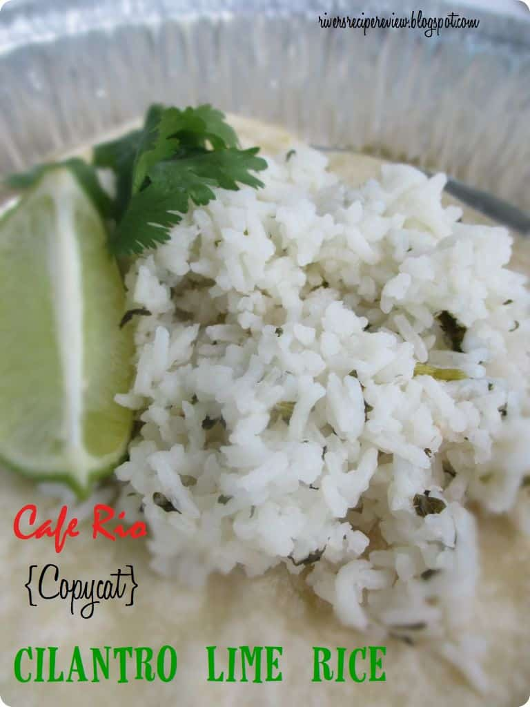 Cafe Rio {Copycat} Cilantro Lime Rice | The Recipe Critic