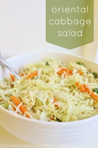 {Guest Post} Oriental Cabbage Salad