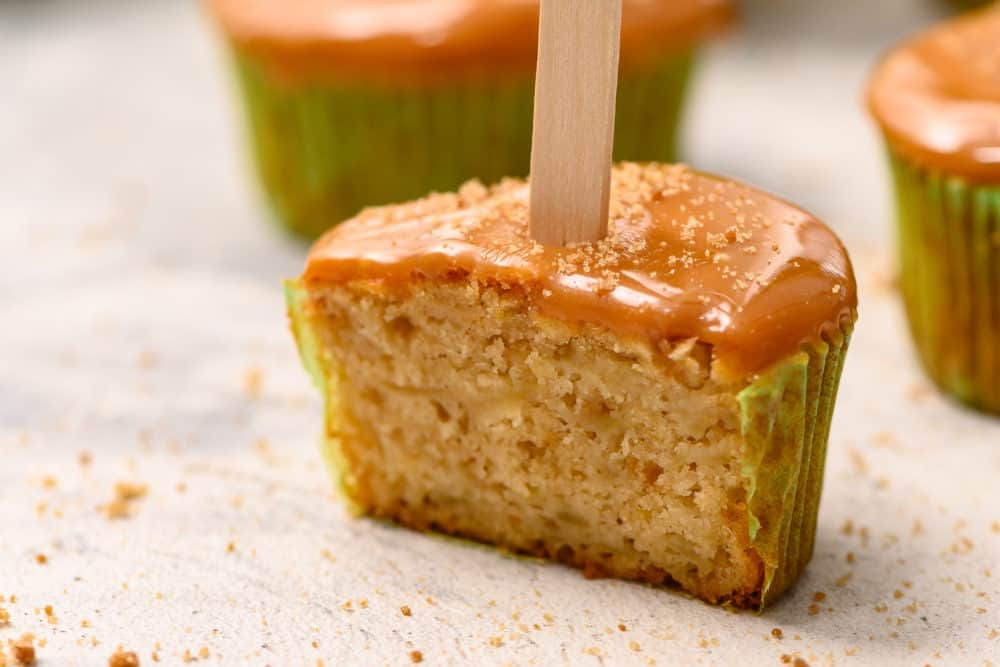 Caramel apple sticks.