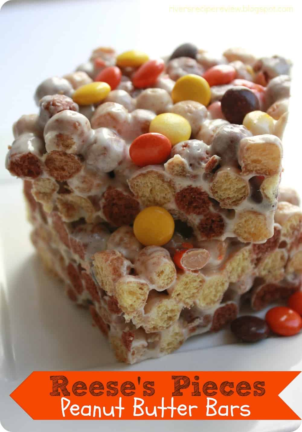 Reese S Pieces Peanut Butter Bars The Recipe Critic