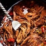 Slow Cooker Beef Carnitas Tacos