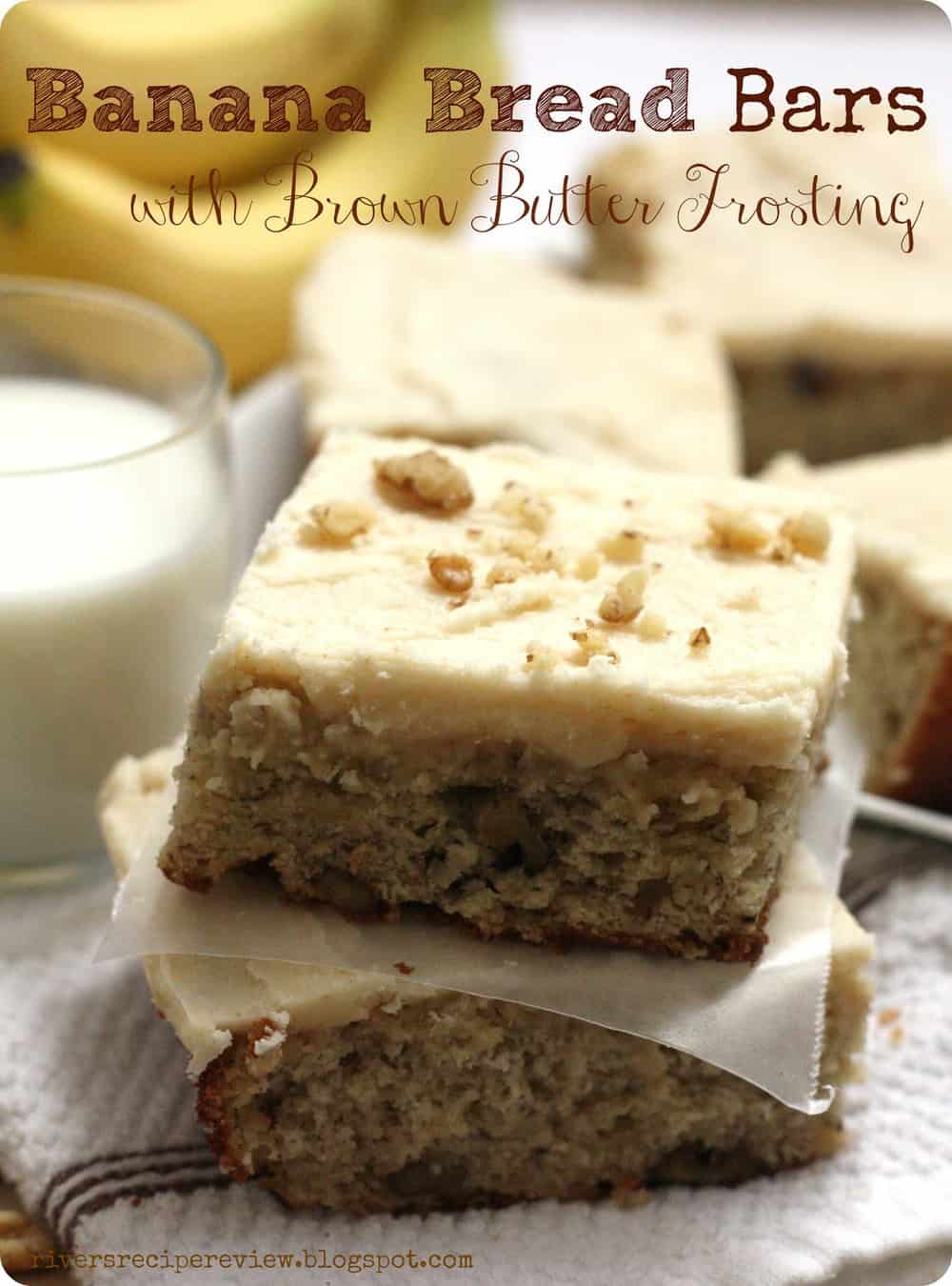 Banana Bread Bars The Recipe Critic