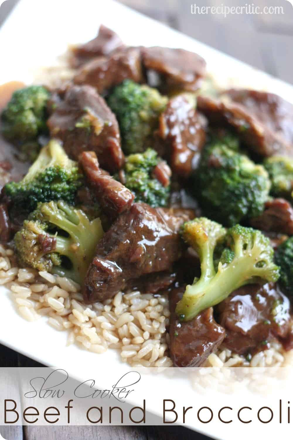 Slow cooker beef and broccoli the recipe critic recipe adapted from table for two slowcookerbroccolibeef4 forumfinder Images