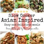 10 Asian Inspired Slow Cooker Meals