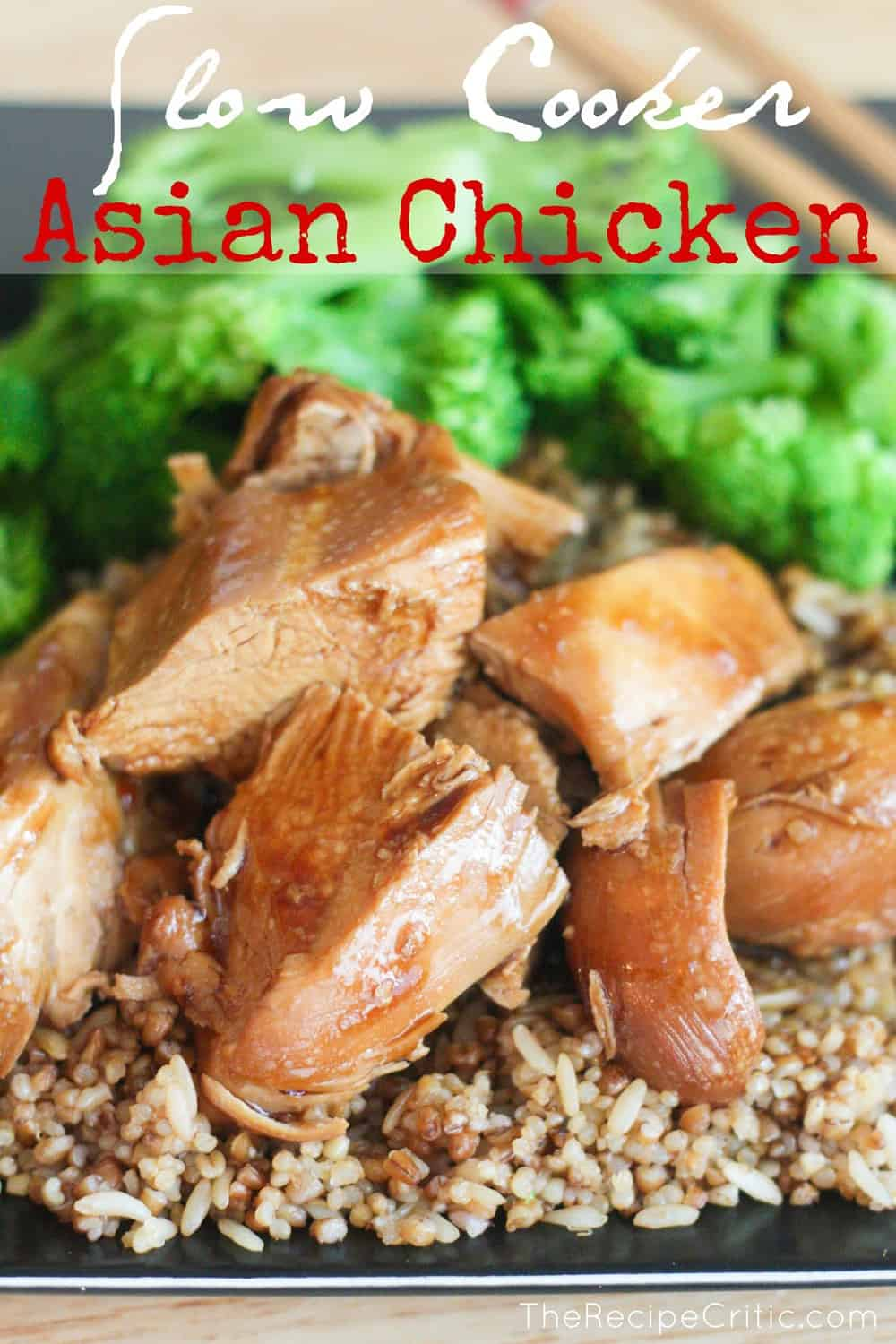 and Recipe and asian chicken