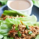 Slow Cooker Asian Lettuce Wraps