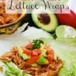 Slow Cooker Tex Mex Lettuce Wraps