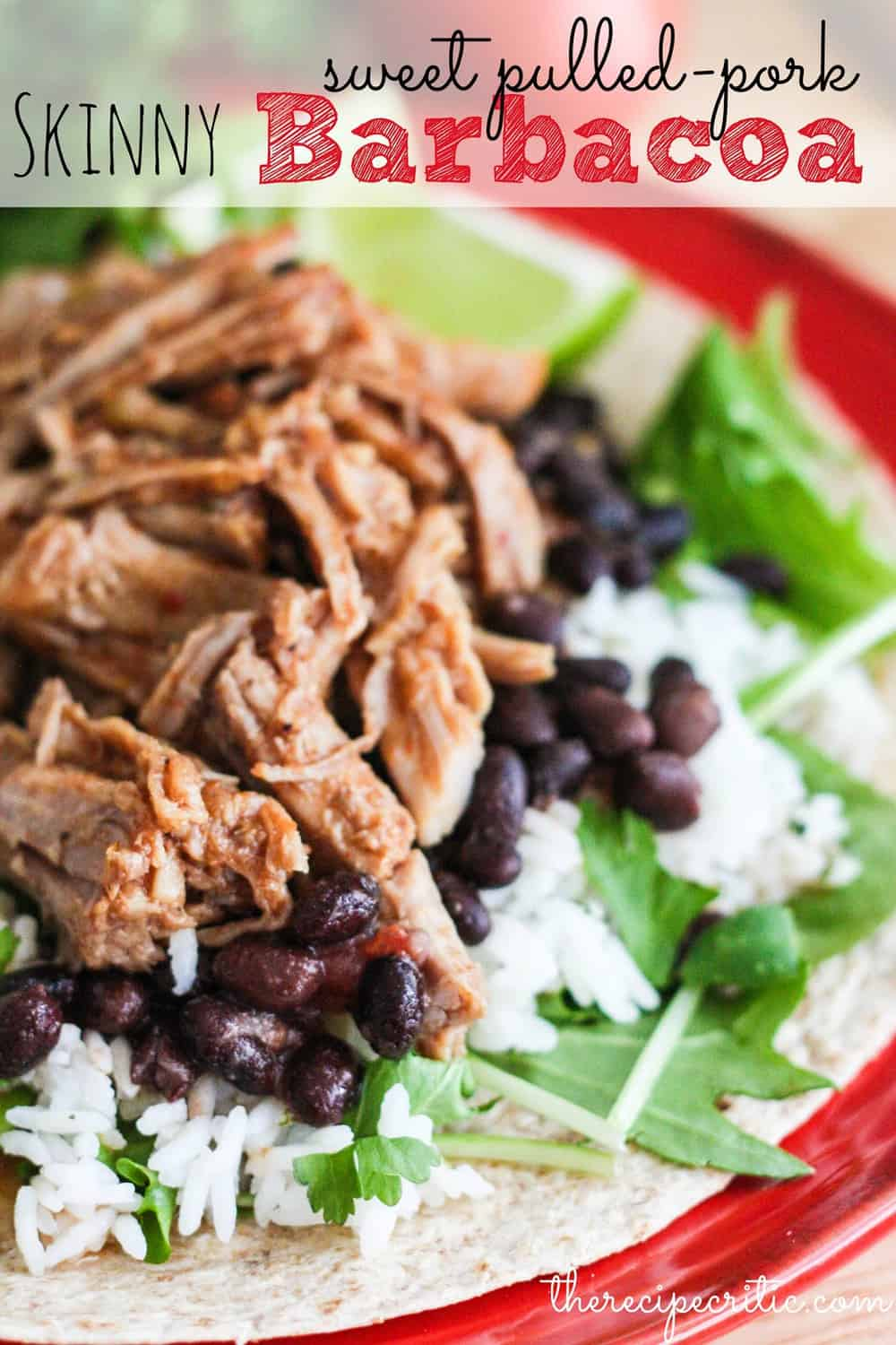 Cafe Rio Sweet Pork Barbacoa Salad Recipe