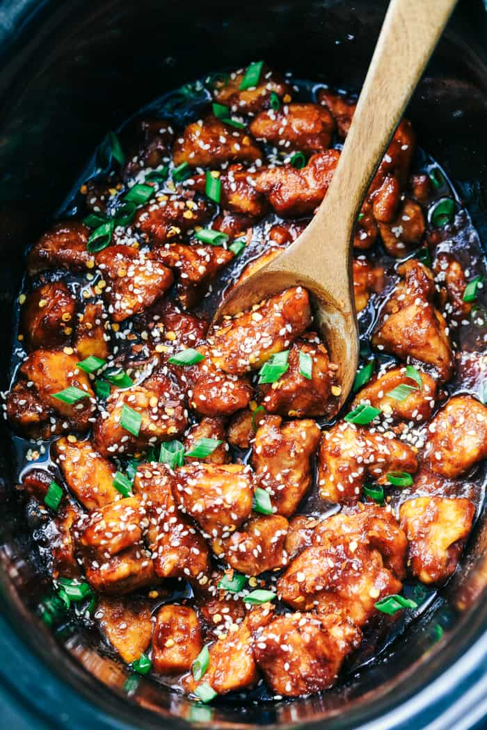 Slow Cooker General Tso's Chicken 2