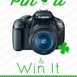 Pin it to Win it! Canon Camera Edition
