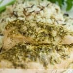 Slow Cooker Pesto Ranch Chicken