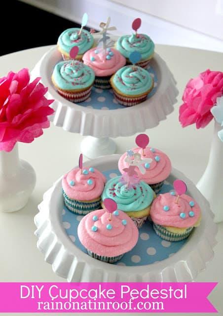 DIY Cupcake Pedestal