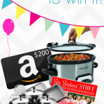 The Recipe Critic 1st Blogiversary Giveaway