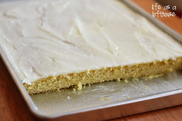 Texas Sheet Cake Recipe Vanilla