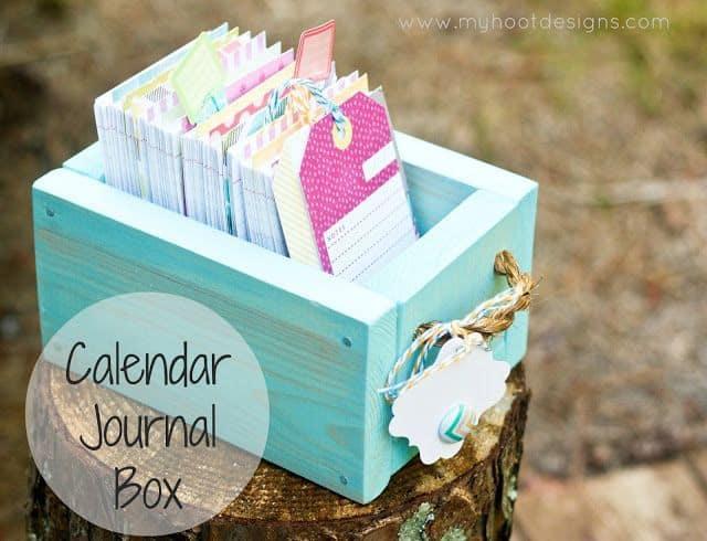 Calendar Journal Box