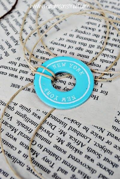 Souvenir Washer Necklaces