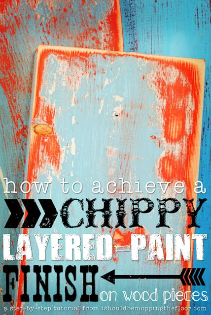 layered paint tutorial