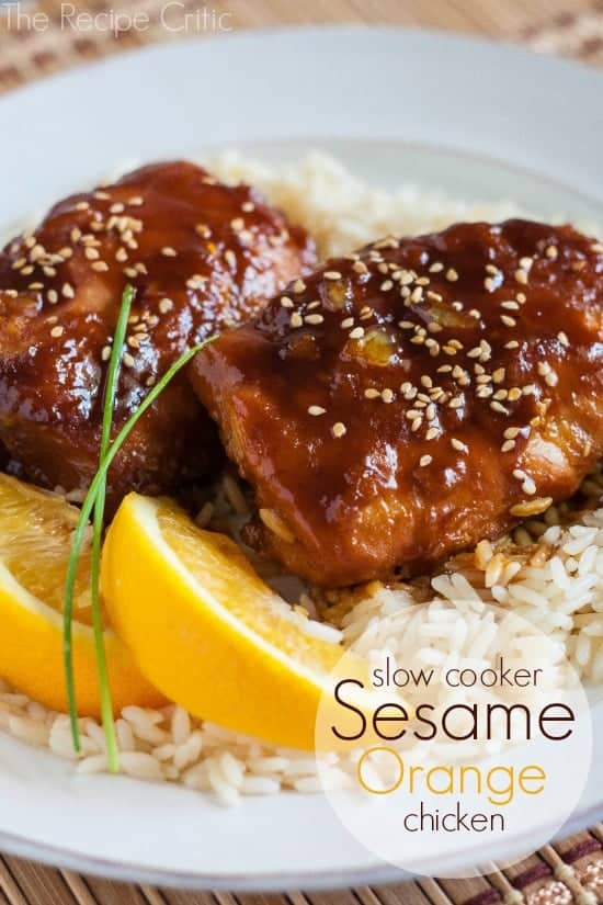 Sesame Orange Chicken | The Recipe Critic