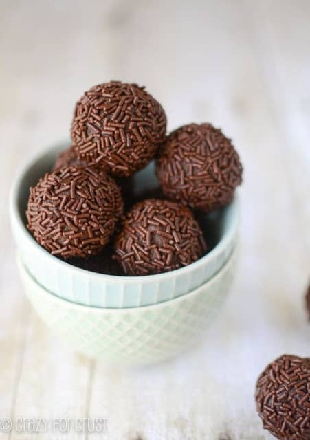 Chocolate Avocado Truffles by Crazy for Crust