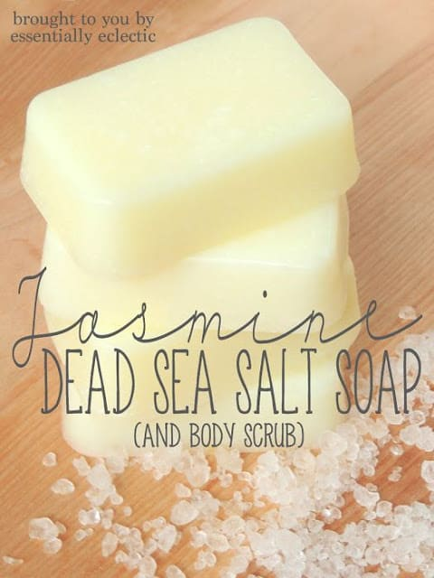Jasmine Dead Sea Salt Soap & Body Scrub by Essentially Eclectic
