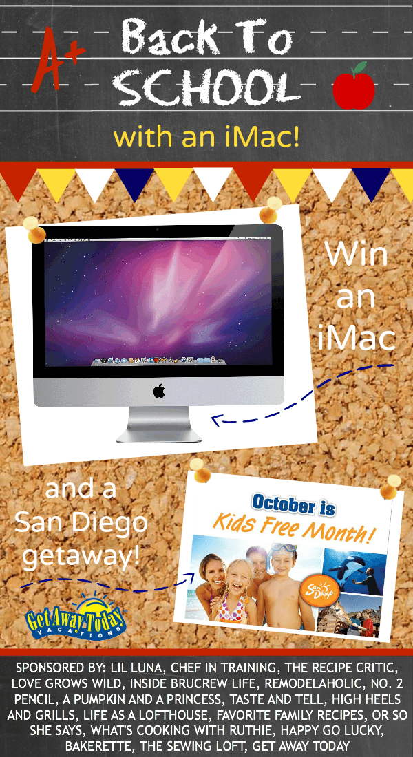 Back to School with an iMac Giveaway!