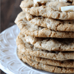 Giant White Chocolate Pecan Cookies