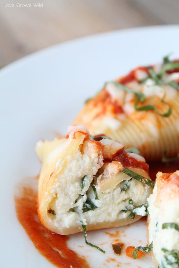 Three Cheese Stuffed Shells The Recipe Critic