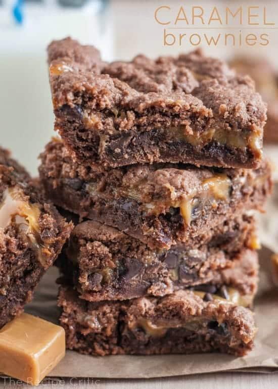 brownies caramel pecan brownies fudgy caramel brownies brownies with ...