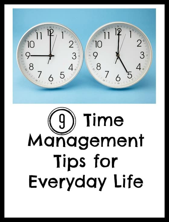 9 Time Management Tps