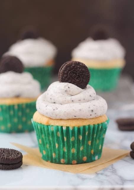 PB Oreo Cupcakes