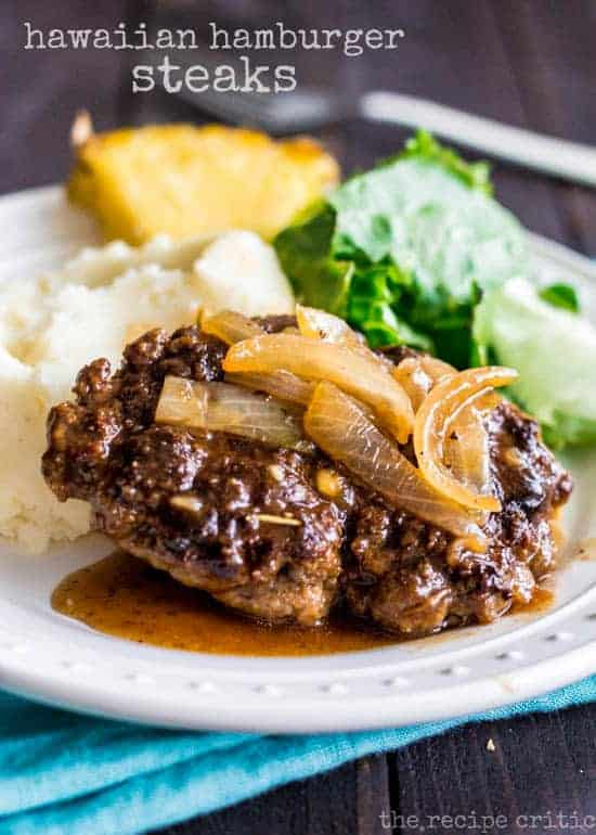 Hamburger steak recipe hawaii style the recipe critic hamburger steak recipe forumfinder Images