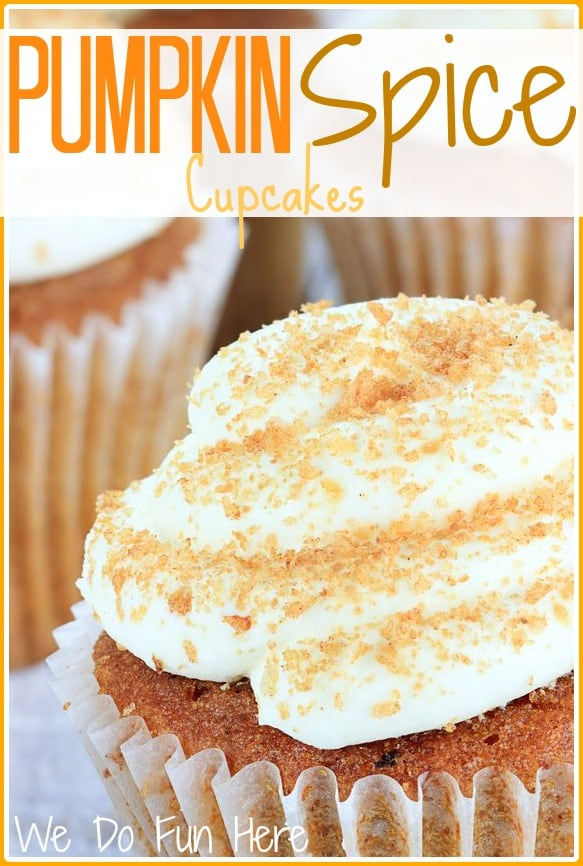 Pumpkin Spice Cupcakes Recipe Alluring Of Pumpkin Spice Cupcakes Pictures