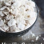 Vanilla Coconut Muddy Buddies