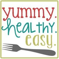 Yummy, healthy, easy blog logo