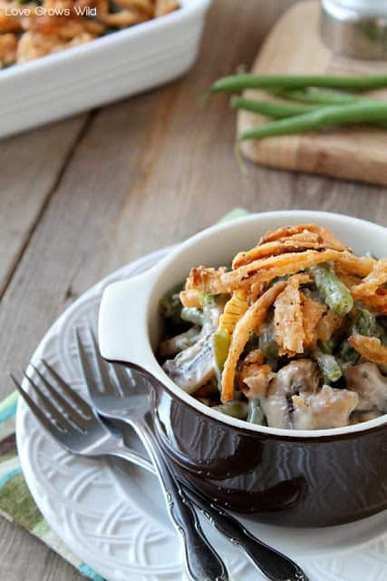 Green Bean Casserole Thanksgiving side dish