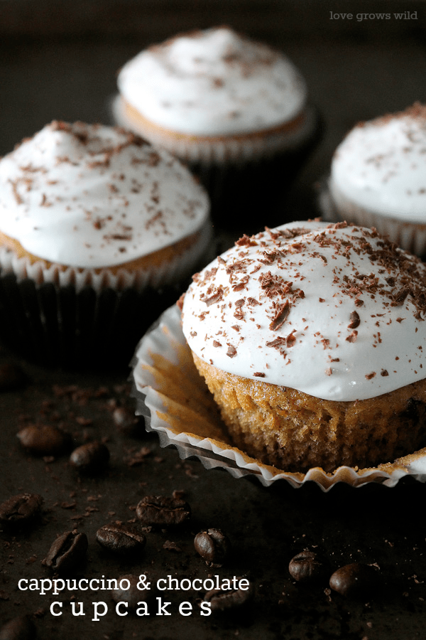 Coffee And Chocolate Have To Be Two Of My Favorite Things In The Entire World So A Cupcake That Combines Intoxicating Aroma Cappuccino With Rich