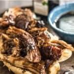 Slow Cooker Brown Sugar Balsamic Glazed Pork