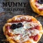 Mummy Mini Pizzas