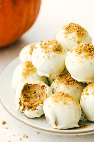 Pumpkin Cream Cheese Truffles - The Recipe Critic RSS Feed  IMAGES, GIF, ANIMATED GIF, WALLPAPER, STICKER FOR WHATSAPP & FACEBOOK