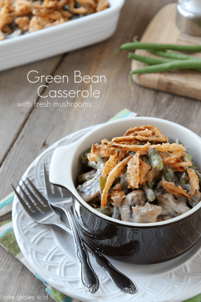 Green Bean Casserole - Best 50 Holiday Sides, Dinners, & Dessert Recipes. The Recipe Critic, Alyssa Rivers.