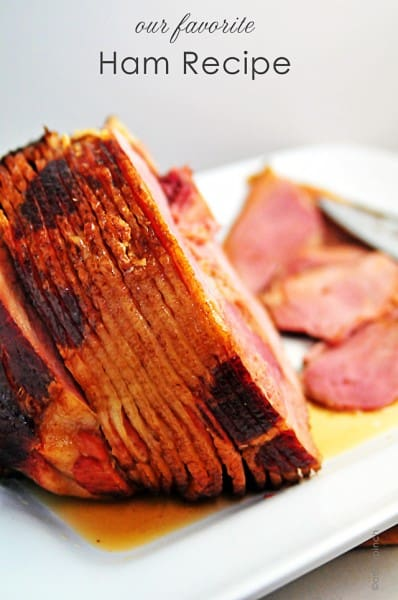 Baked Ham - Best 50 Holiday Sides, Dinners, & Dessert Recipes. The Recipe Critic, Alyssa Rivers.