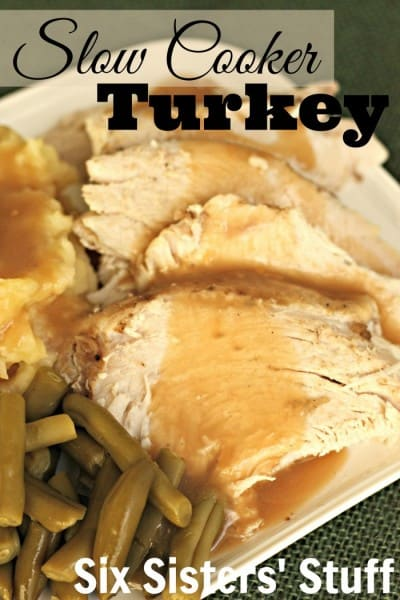 Slow Cooker Turkey - Best 50 Holiday Sides, Dinners, & Dessert Recipes. The Recipe Critic, Alyssa Rivers.