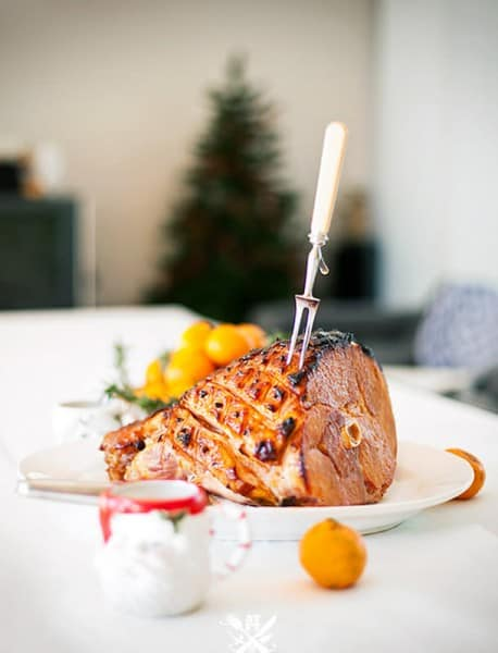 Apricot Glazed Ham - Best 50 Holiday Sides, Dinners, & Dessert Recipes. The Recipe Critic, Alyssa Rivers.