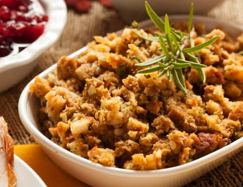 Holiday Stuffing - Best 50 Holiday Sides, Dinners, & Dessert Recipes. The Recipe Critic, Alyssa Rivers.