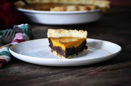 Pumpkin Pie Brownies - Best 50 Holiday Sides, Dinners, & Dessert Recipes. The Recipe Critic, Alyssa Rivers.