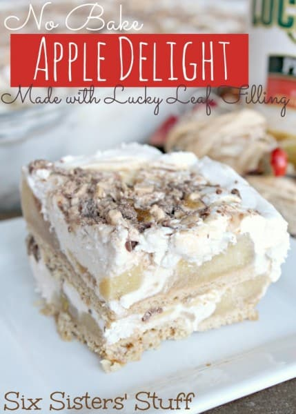 No Bake Apple Delight Holiday Dessert - Best 50 Holiday Sides, Dinners, & Dessert Recipes. The Recipe Critic, Alyssa Rivers.
